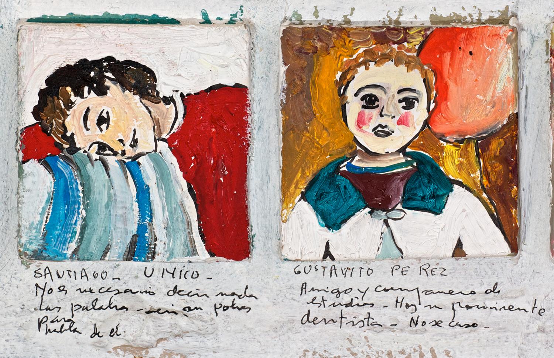 Détail 1b - Lista de Recuerdos 1942 - 1971
