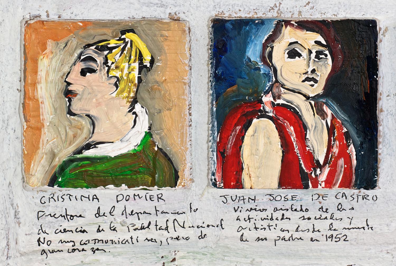 Détail 3a - Lista de Recuerdos 1942 - 1971