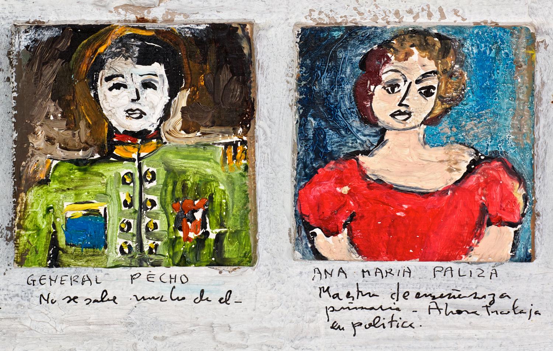 Détail 2b - Lista de Recuerdos 1942 - 1971