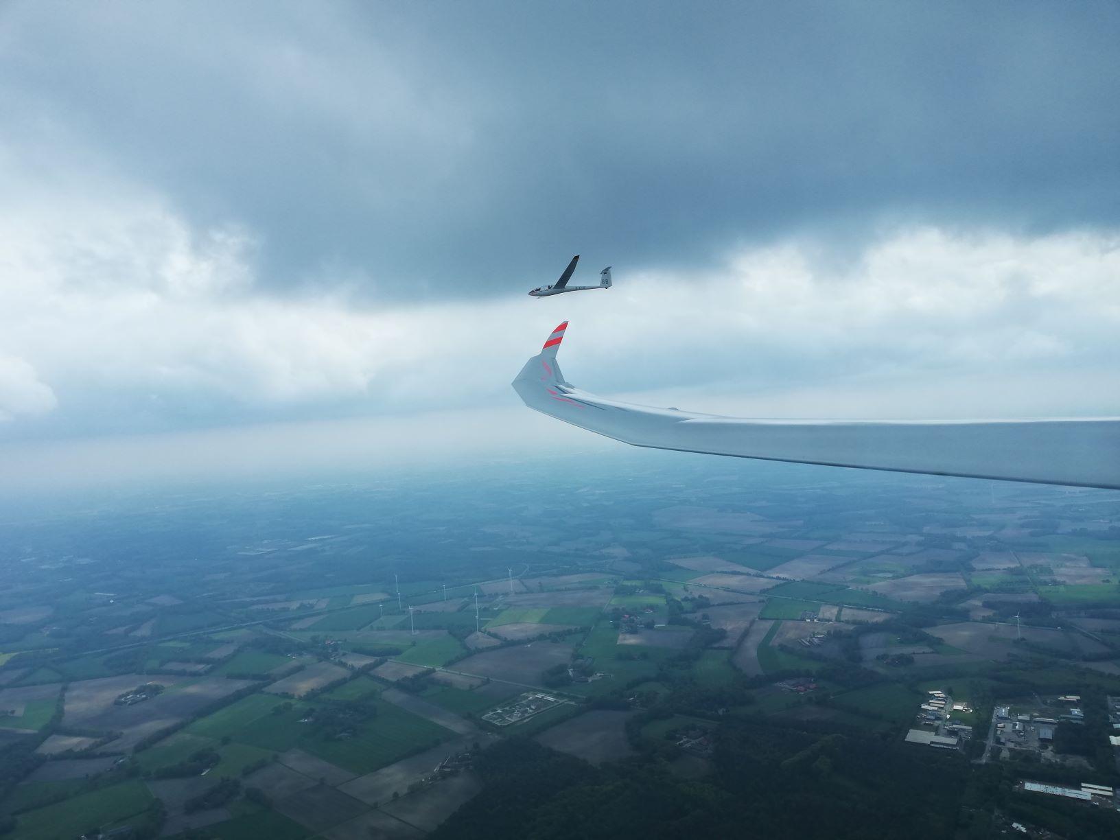 Im Teamflug zum Erfolg über dem Münsterland