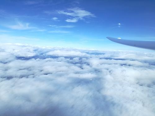 Über den Wolken... (Foto: Christoph Kahler)