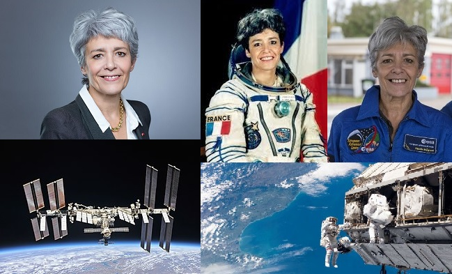 Claudie Haignere spationaute astronaute scientifique pionnière contact