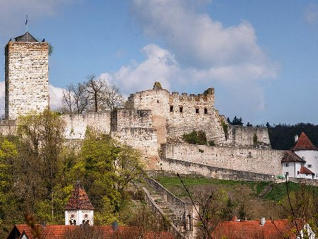 Burg Pappenheim, © Wikimedia, Derzno, CC-BY-SA 3.0