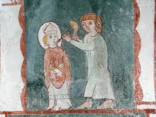 Hl. Vitus, Fresko Kottingwörth, © Anne Müller