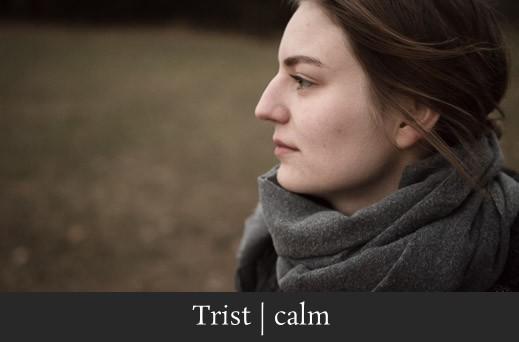 Trist calm - Melancholisches Portrait einer Frau in der Fränkischen Schweiz