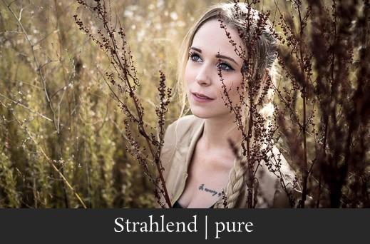 Strahlend pure - Natürliches Portrait einer blonden Frau in Forchheim