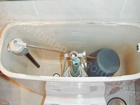 Como reparar una cisterna que gotea