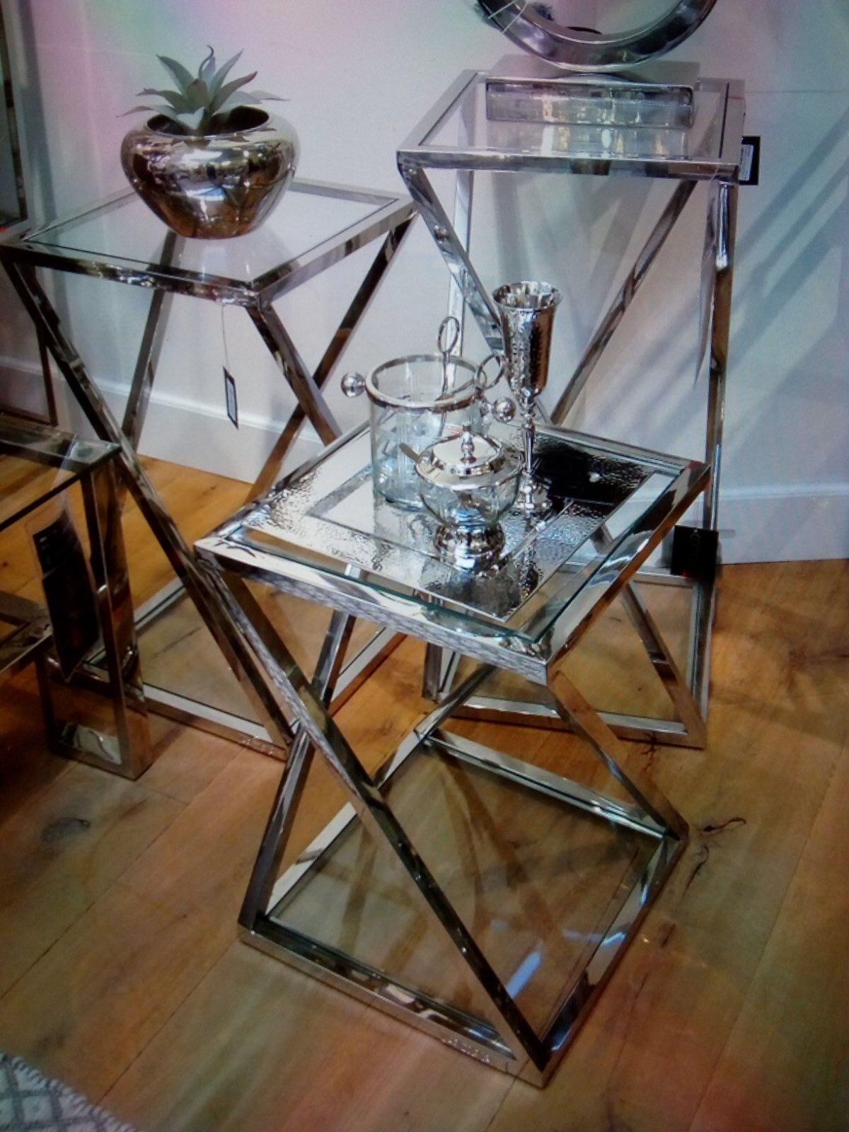 Bijzet Tafeltje Glas.Strak Mooi En Design Meubels Lamp Lifestyle