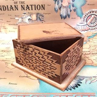 sioux&lily幾何学模様 小箱