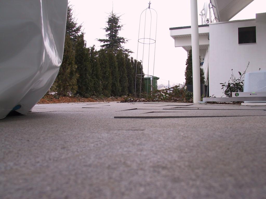 Gartenplatten Stolperfallen