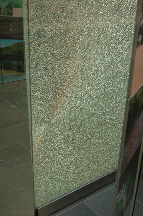 Sicherheitsglas Glasbruch Nickelsulfideinschluss