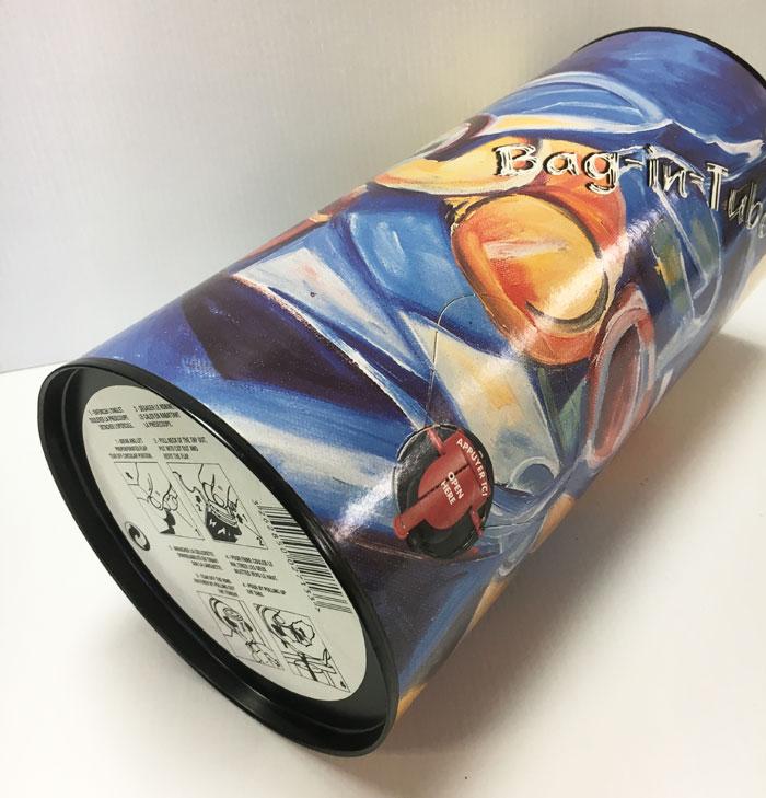 boîte composite imprimée fantaisie
