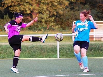 Katja Neumann drehte mit ihrem Hattrick das Spiel in Leipzig