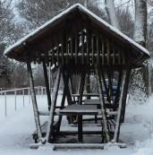Winter in Maasdorf Dezember 2014