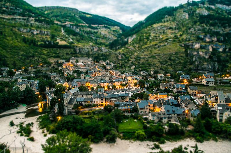 Sainte Enimie, classé plus Beaux villages e France
