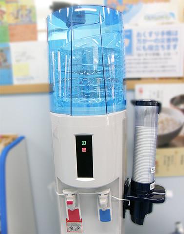 水分の補給に。ご自由にご利用ください。