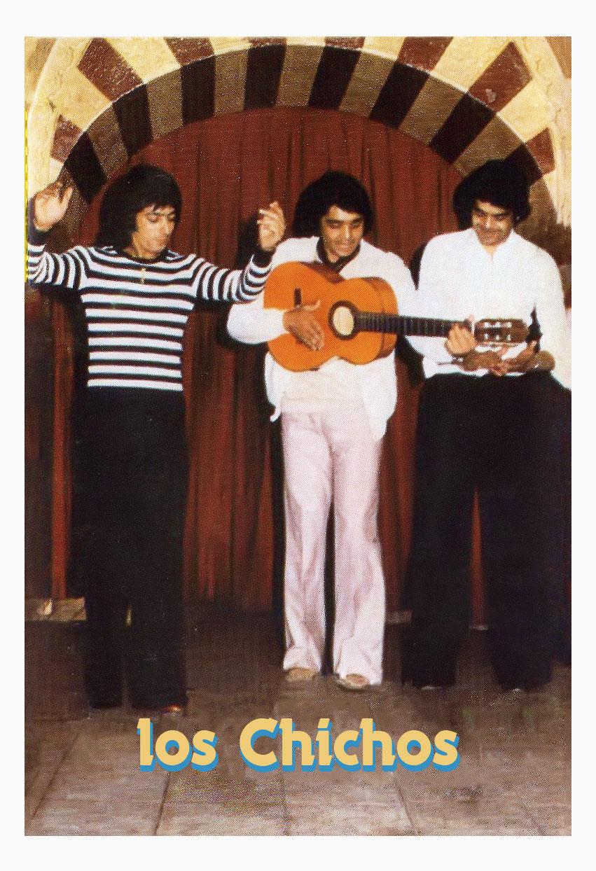 Los Chichos en sus primeras apariciones  (Madrid 1975)