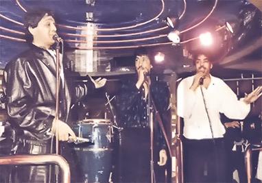 Los Chichos en la Sala Zafiro 3 en Barcelona (1985)