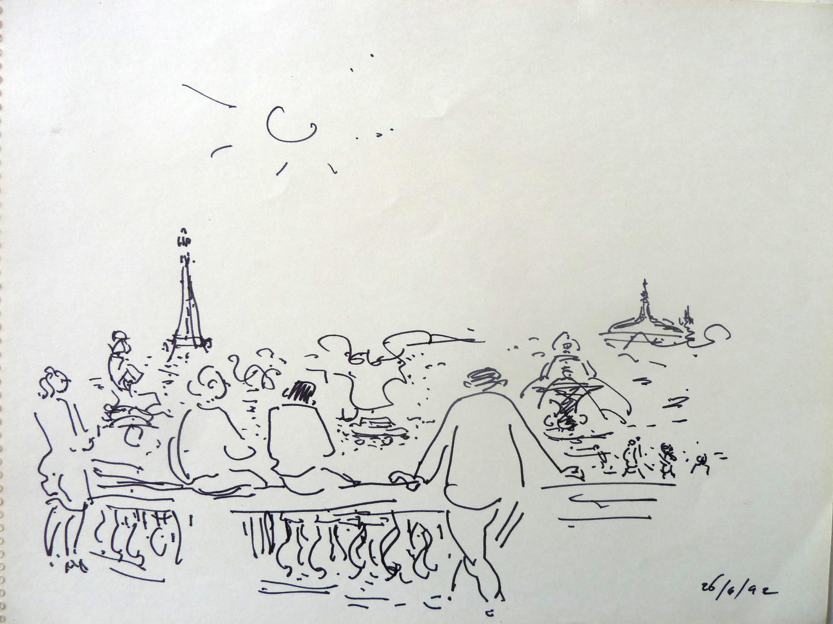 1992 Tuileries