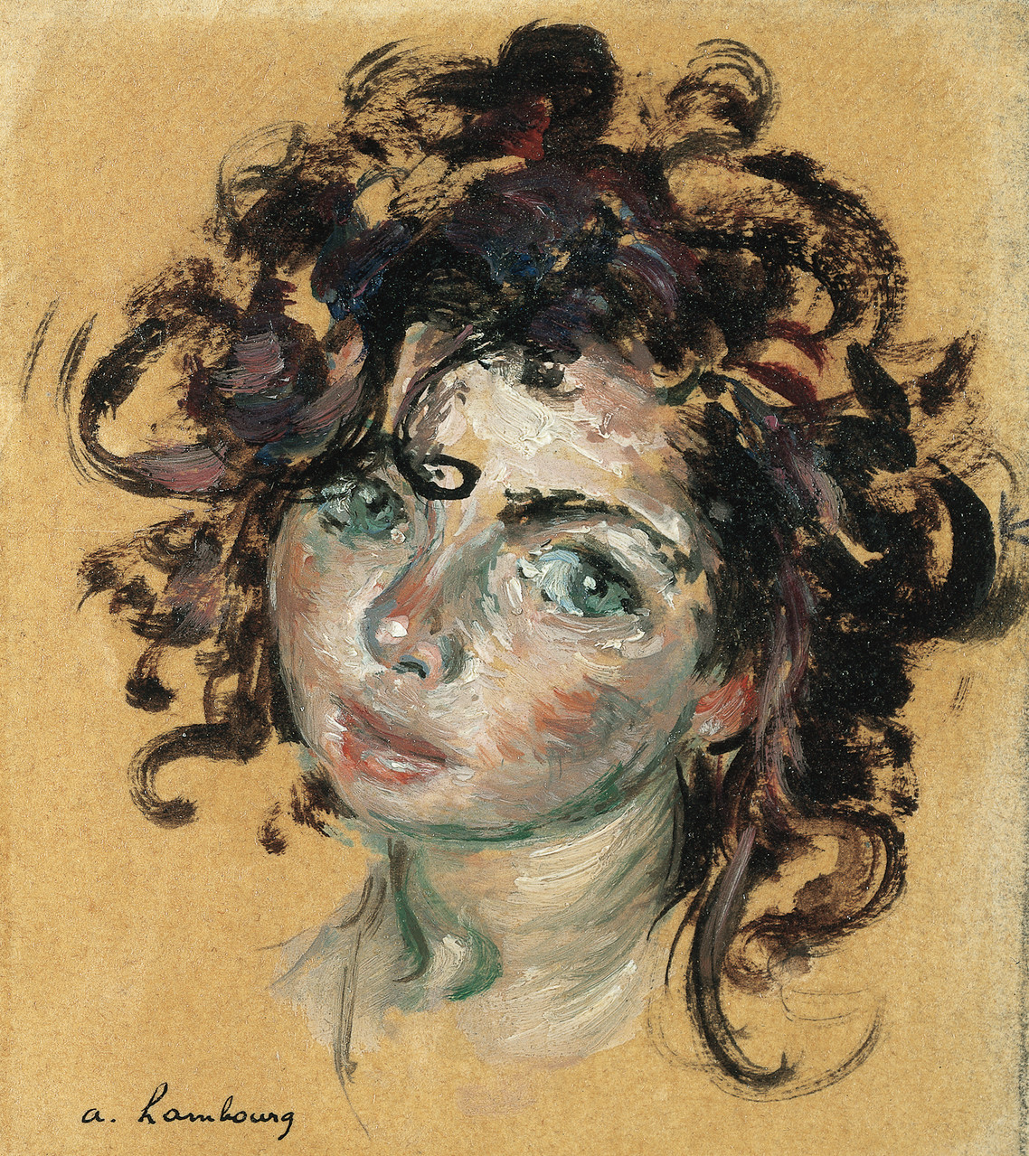 «Portrait de Nicole» 1949, 10cmx12cm, PO60