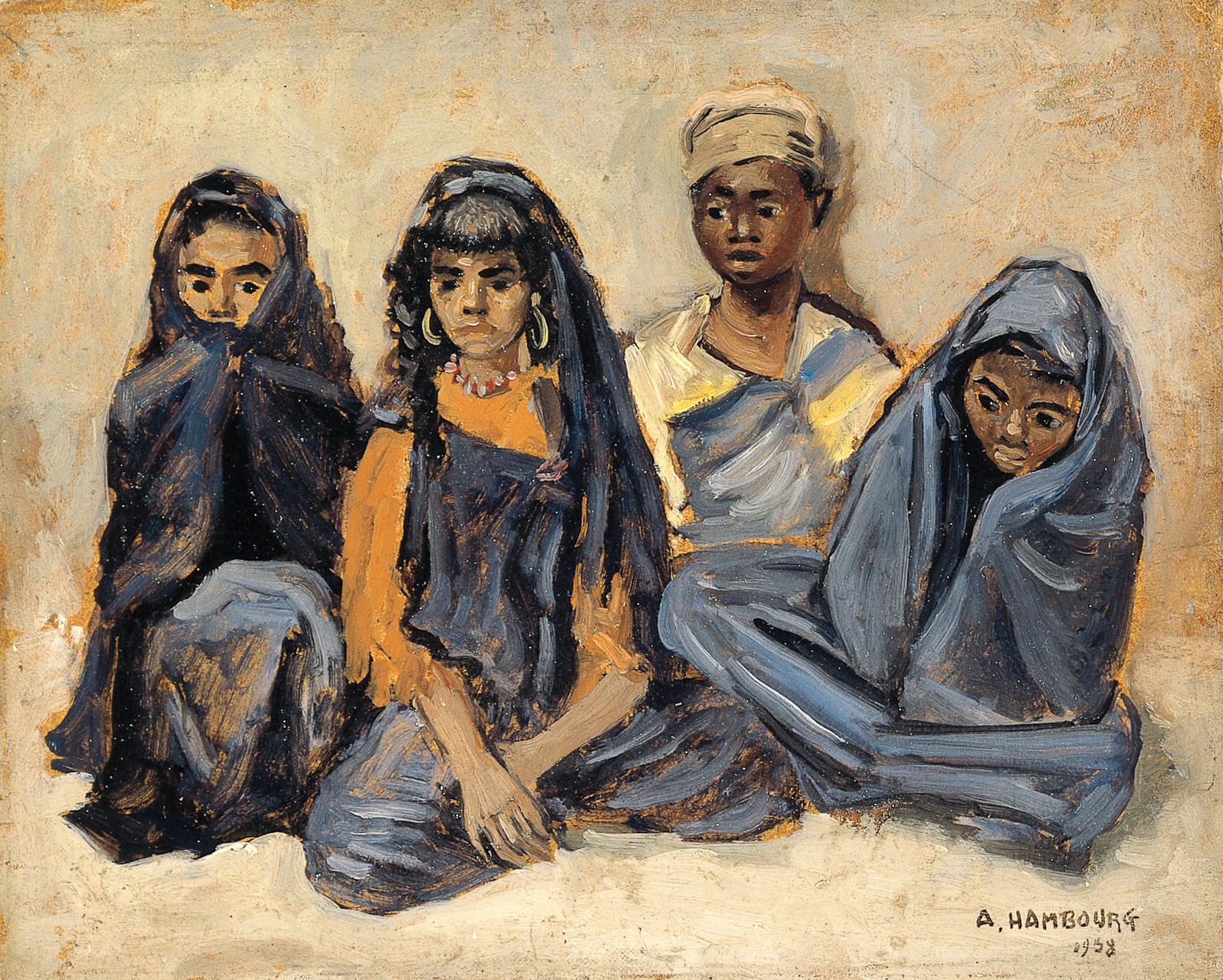 «Les enfants d'Erfoud» 1938, 22cmx27cm, MG 91