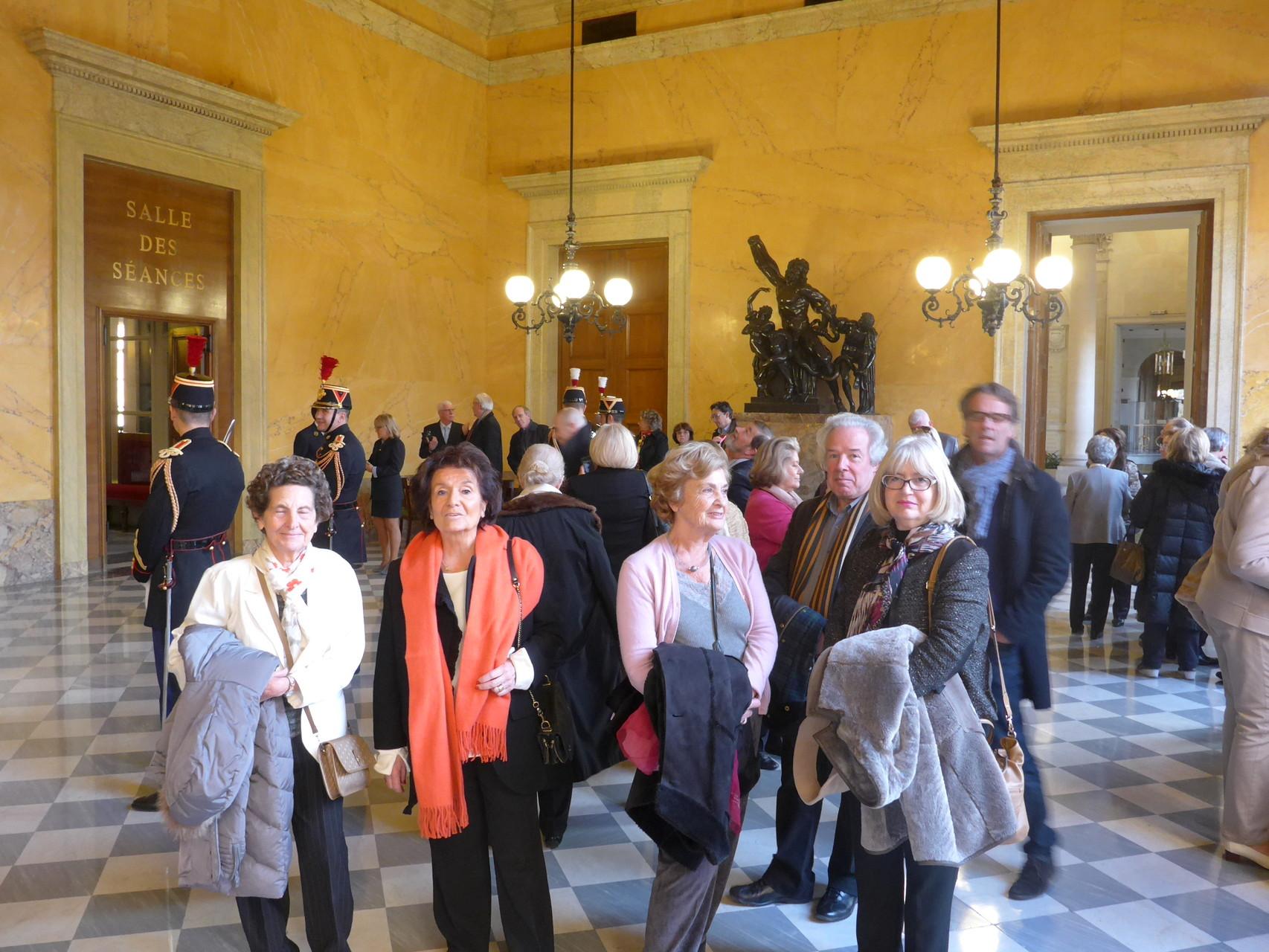 Visite privée Assemblée Nationale