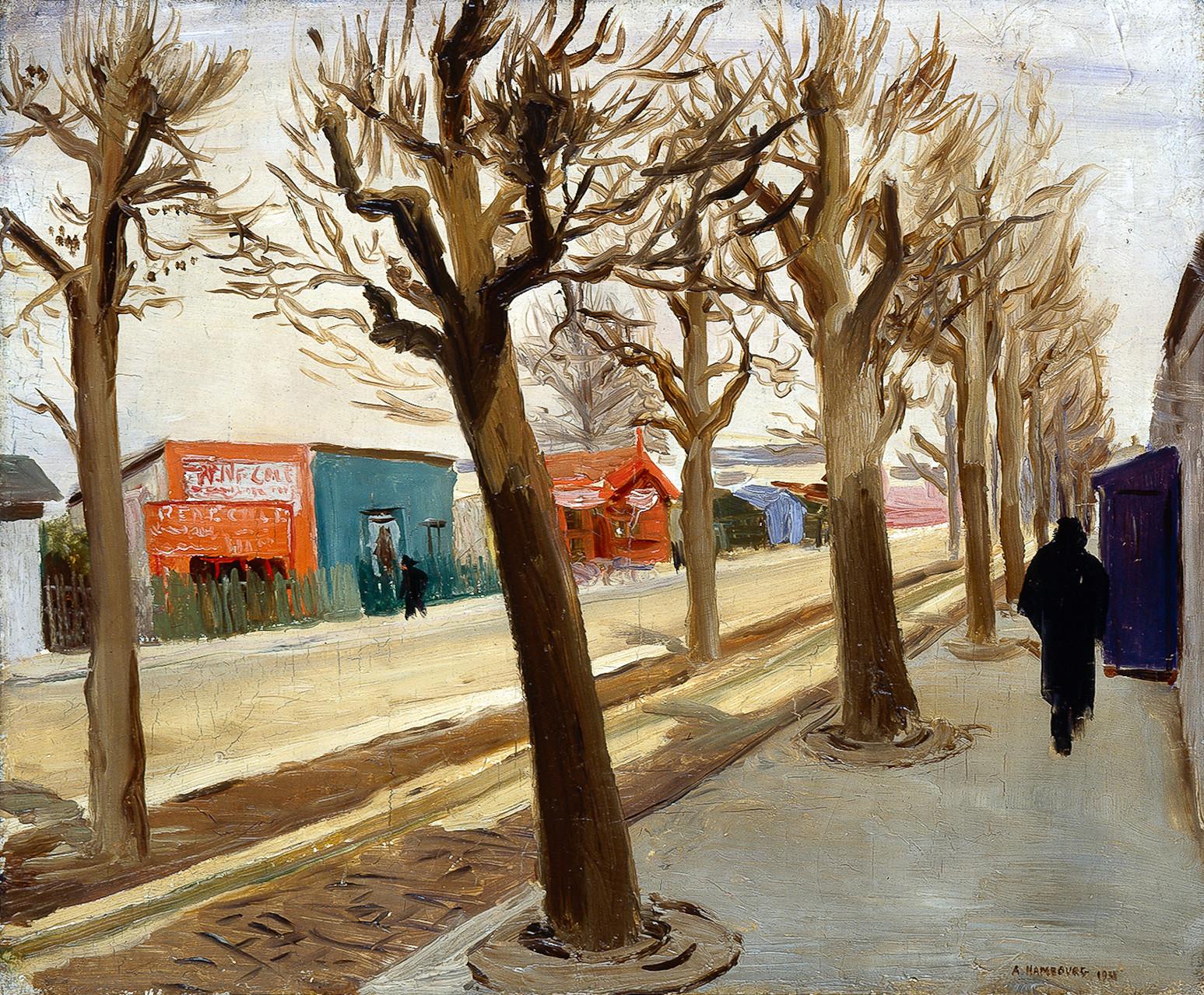 «A la porte de Versailles» 1931, PA45