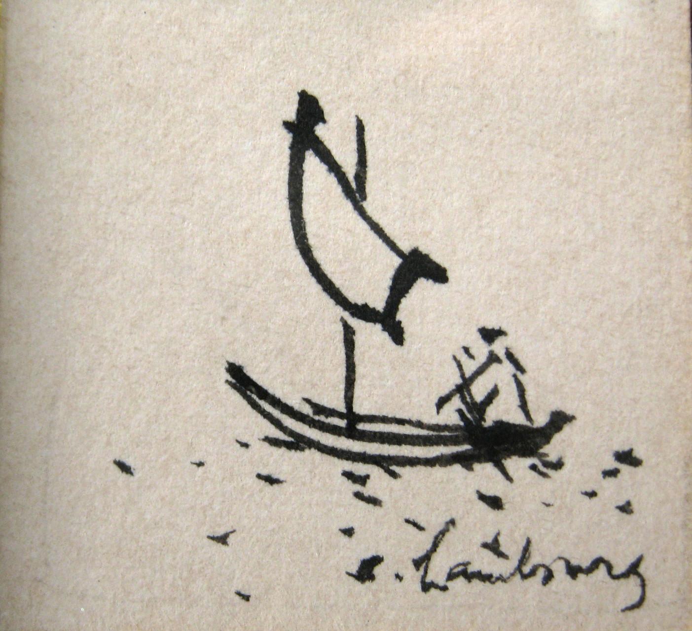 1958 La barque