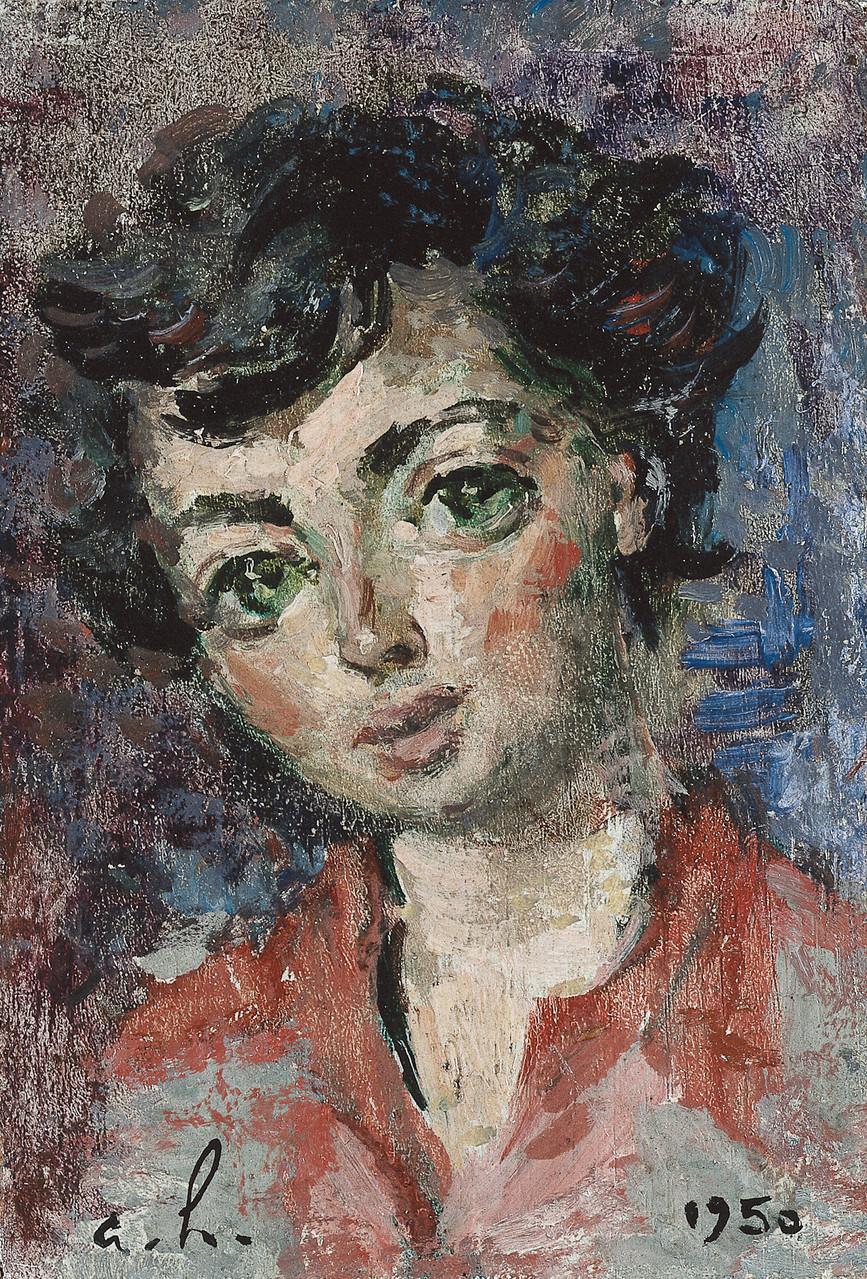 «Nicole en 1950» 1950, 13cmx9cm, PO65