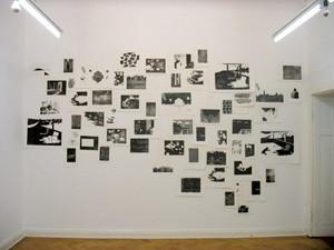 Ausstellung 2010 in der Galerie 18m, Foto: Julie August