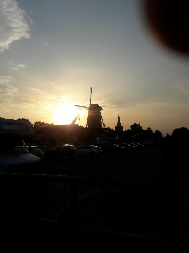 Windmühle in Wijk bij Duurstede