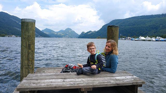 Pause am Vierwaldstätter See
