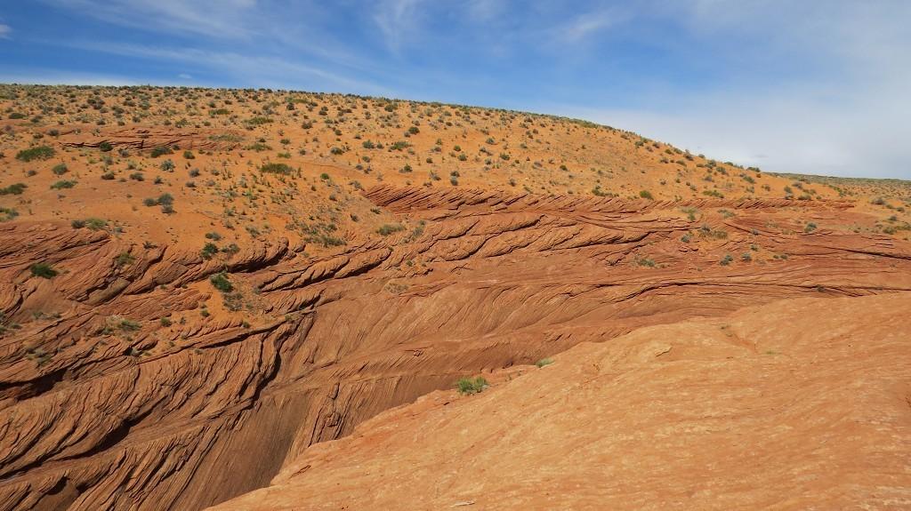 Die Antelope-Canyon -Tour beginnt...