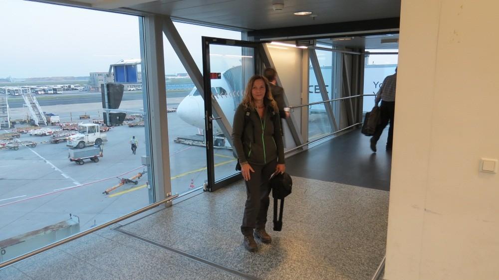 Endlich boarding!