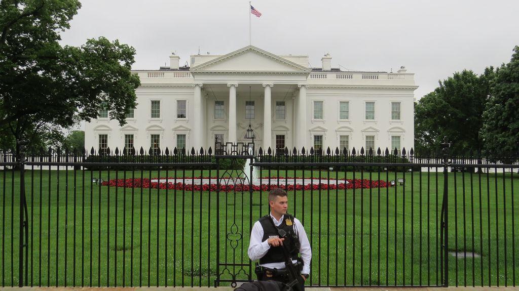 Haupteingang zum Weißen Haus