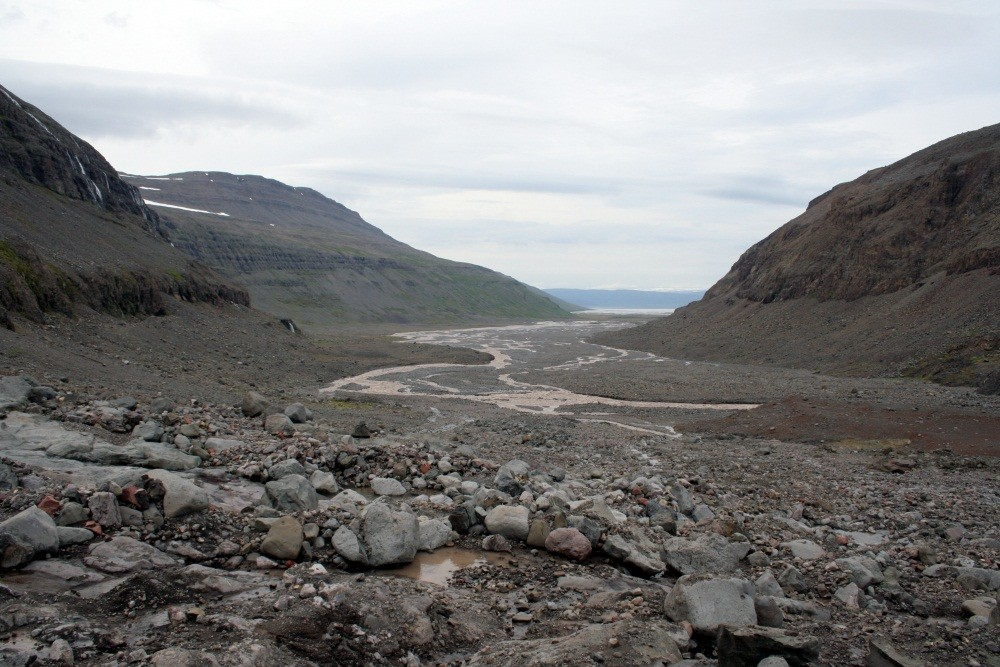 Unser nächstes Ziel ist der Gletscher der Westfjorde...