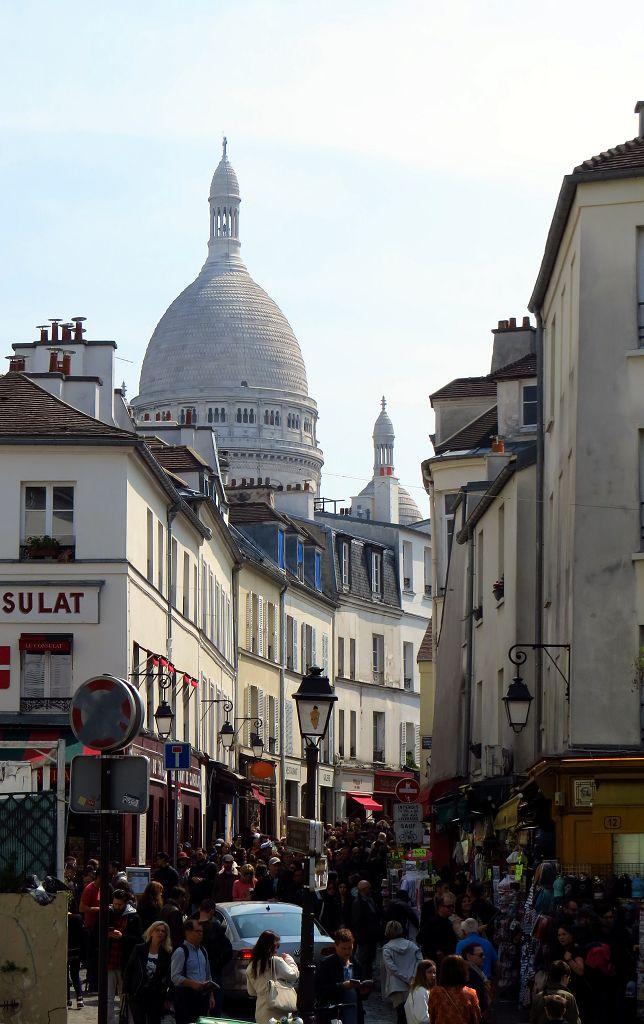 Blick zu Sacré-Coeur