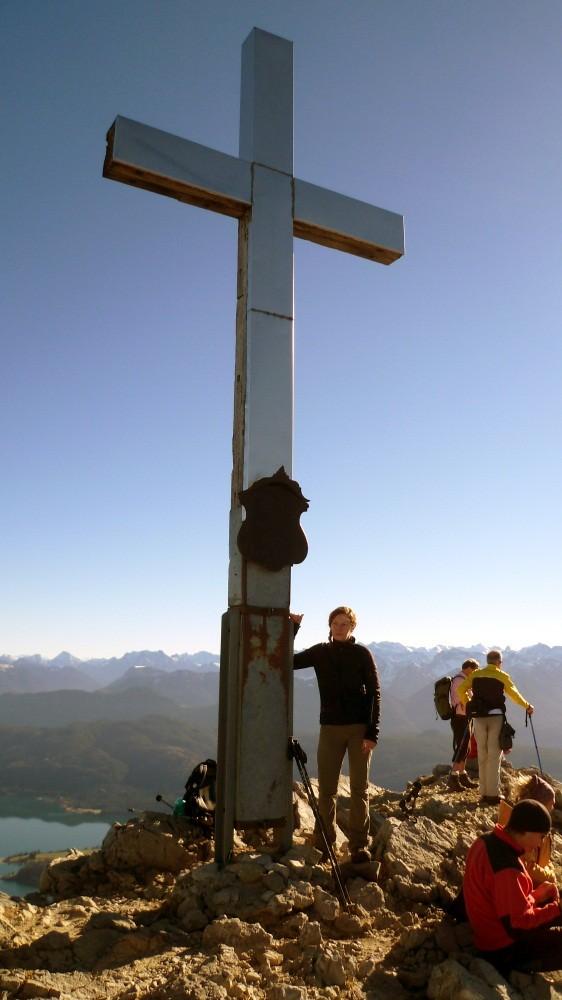 Heimgarten-Gipfel auf 1790 m
