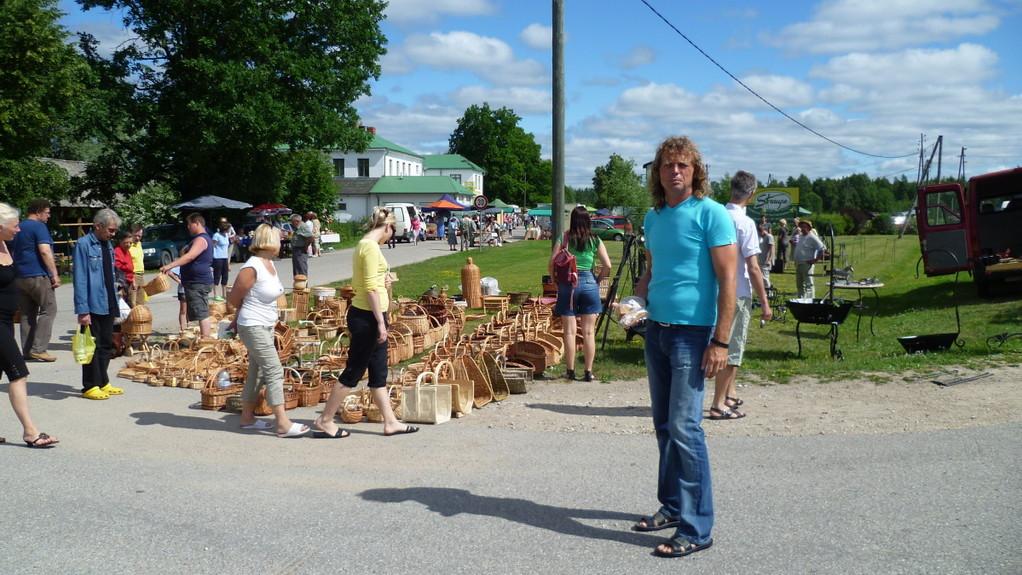 Auf dem Bauernmarkt von Placis...