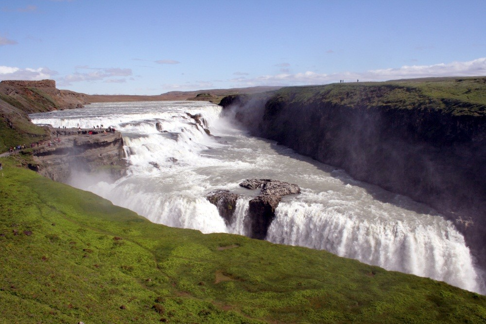 Am Gullfoss