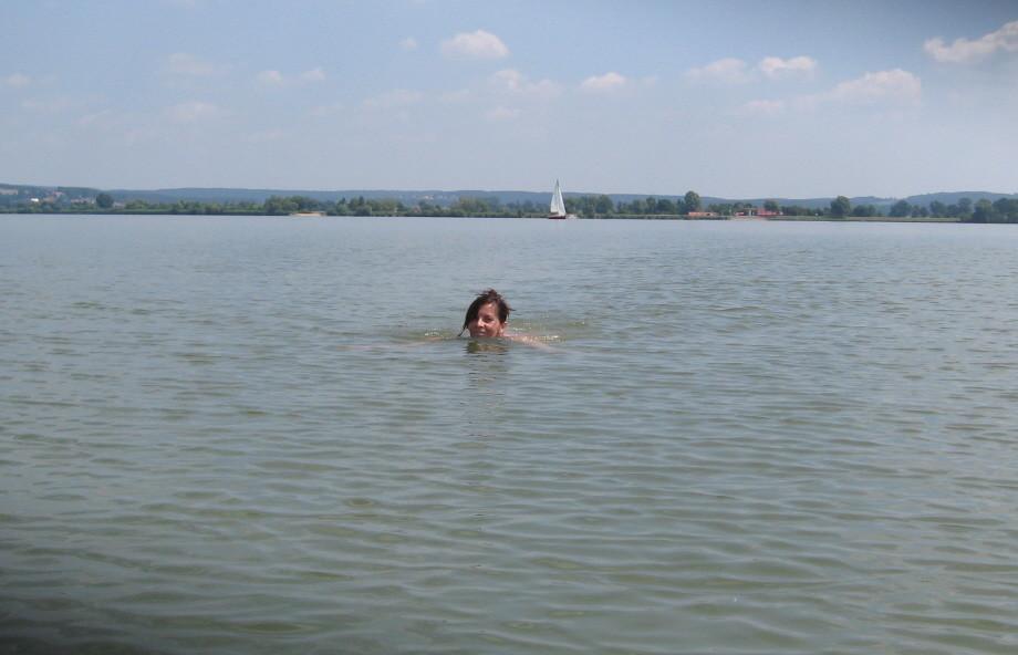 Schwimmen im Altmühlsee