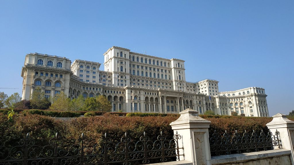 Präsidentenpalast, das größte Gebäude Europas