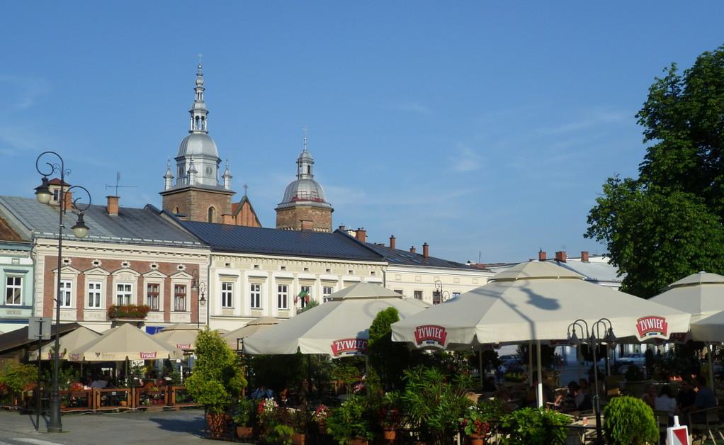 Marktplatz in Novy Sacz