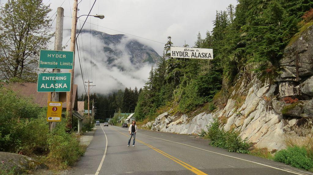Wir verlassen Alaska...