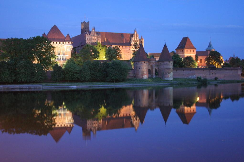 Marienburg bei Nacht. Echt toll!