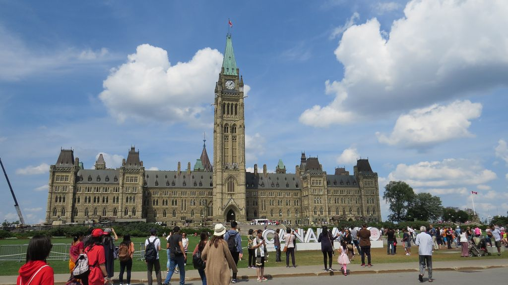 Centre Block mit Peace Tower