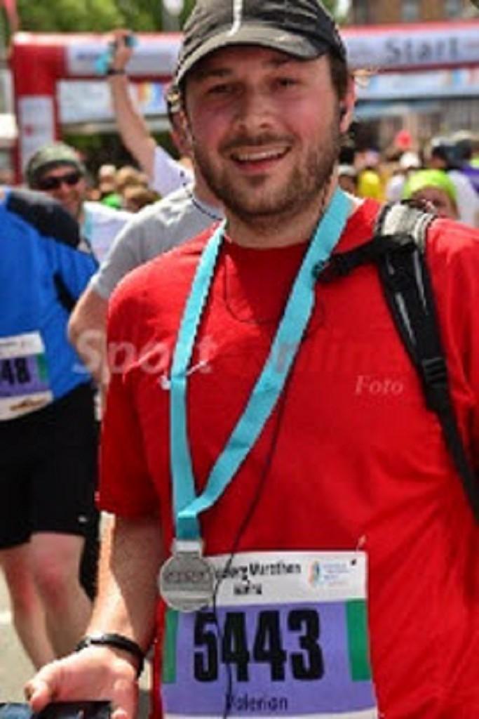 Valerian läuft den Halbmarathon