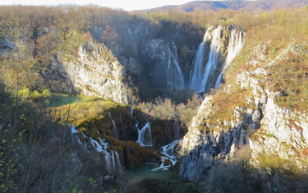 Erster Tag in Plitvice