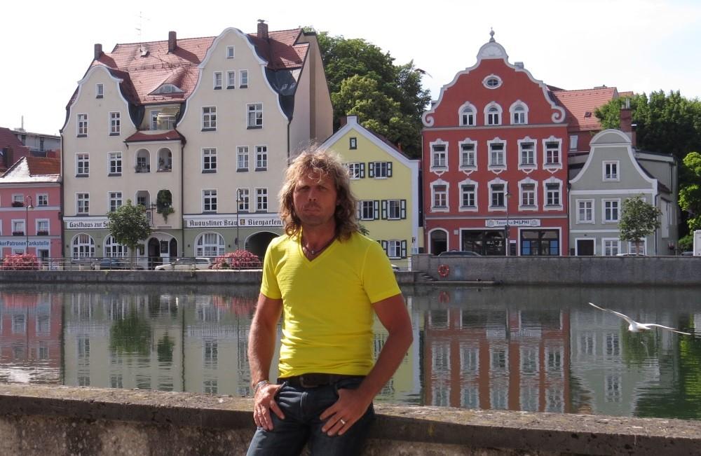 Wieder in Deutschland, hier Landshut