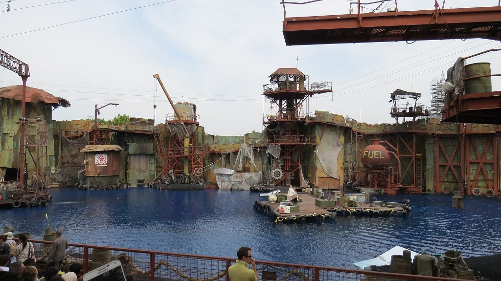 "Stuntshow ""Waterworld""  TOLL !"